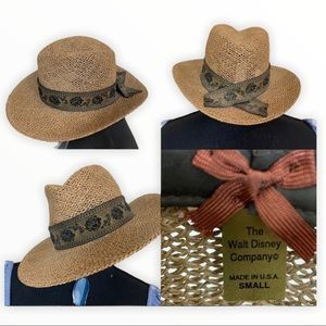 Disney Adventureland Cast Member Woven Fedora Hat